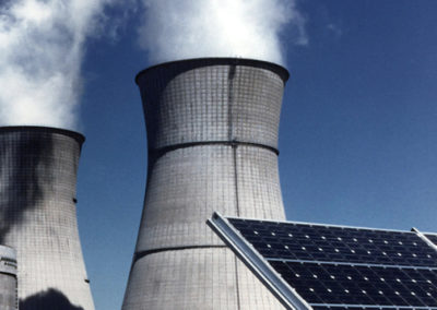 Cooling tower blowdown treatment
